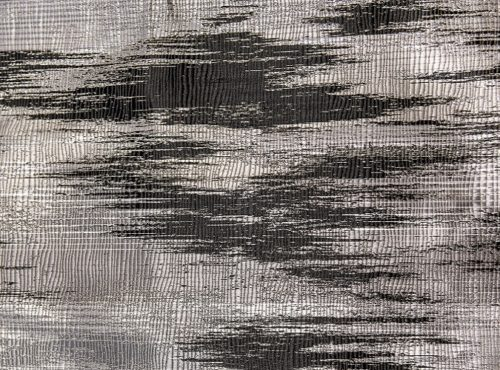 Black Abstract Table Linens, Black Pattern Table Cloth