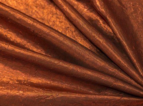 Bronze Crush Table Cloth, Brown Crush Table Linen