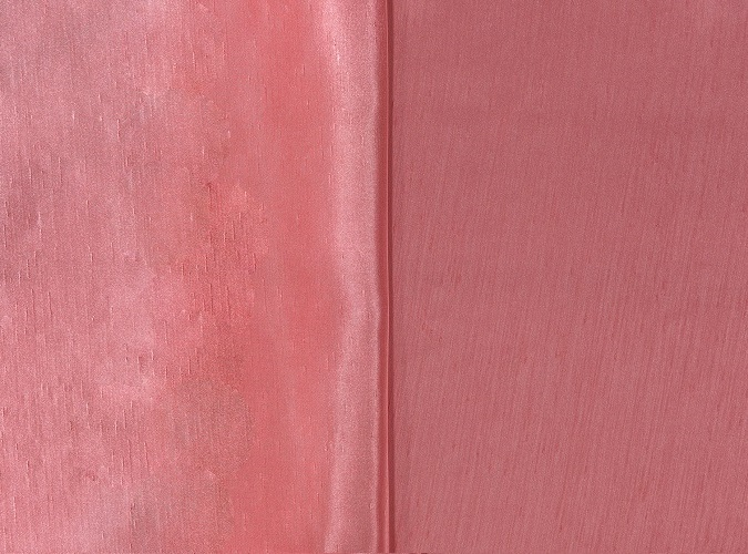 Coral Shantung Table Linen, Pink Shantung Table Cloth