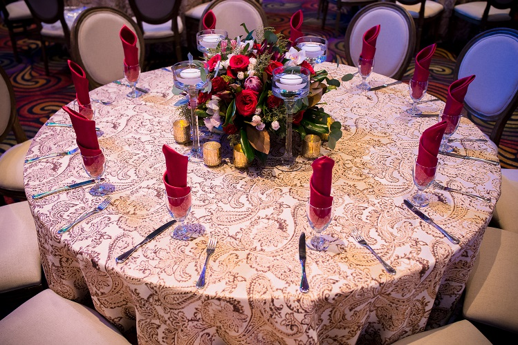 Chestnut Martinique Table Linen