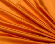 Pumpkin Lamour Table Linen, Orange Table Cloth