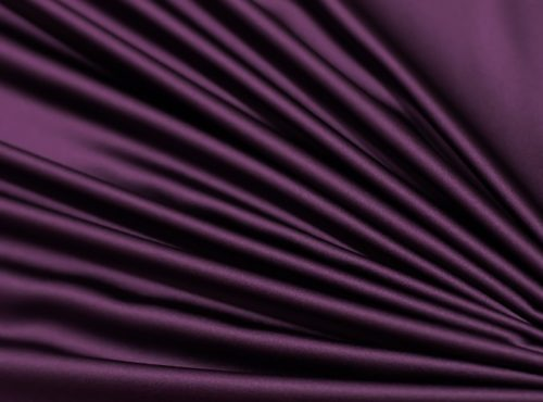 Eggplant Lamour Table Linen, Purple Satin Table Cloth
