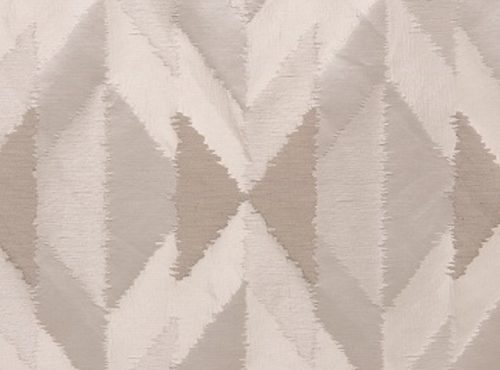 Ivory Messaline Table Linen, White Pattern Table Cloth