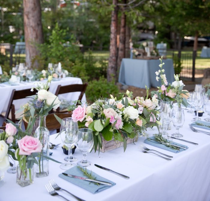 White Essential Table Linen, White Poly Table Cloth, Basic White Table Cloth, West Shore Cafe Wedding