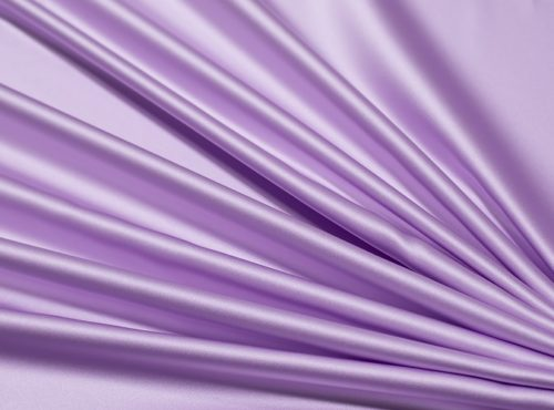 Lavender Lamour Table Linen, Light Purple Satin Table Cloth