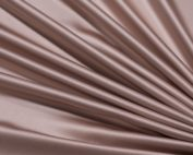 Mocha Lamour Table Linen, Taupe Table Cloth