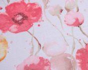 Monet Table Linen, Pink Floral Table Linen