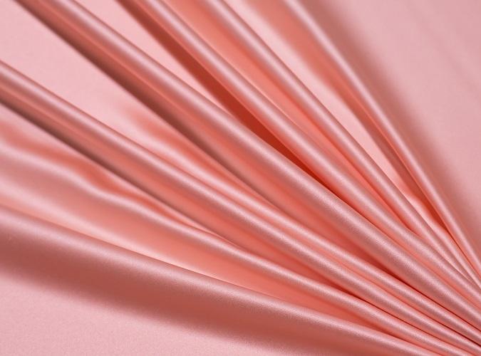 Peach Lamour Table Linen, Peach Table Cloth