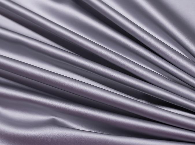 Platinum Lamour Table Linen, Grey Satin Table Cloth