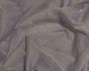 Platinum Voile Table Linen, Sheer Grey Table Cloth