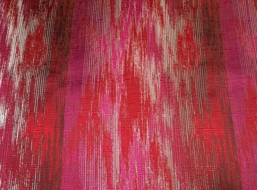 Red Abstract Table Cloth, Red Pattern Table Cloth, Red and Pink Table Linen