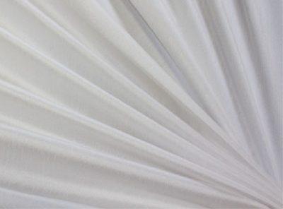 White Dupioni Table Linen, White Table Cloth