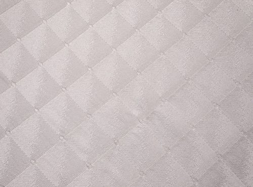 Diamonte Table Linen, White Geometric Table Cloth