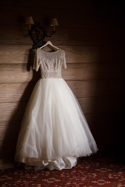 Vintage Bridal Gown, Game Creek Club