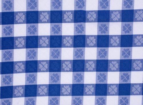 Blue Picnic Check, Blue Gingham