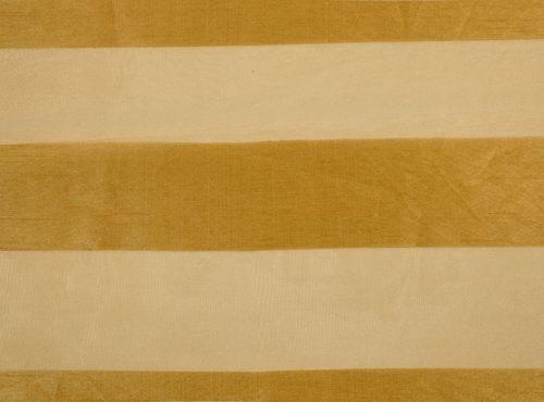 Gold Eternity Stripe Table Linen, Sheer Stripe Table Cloth
