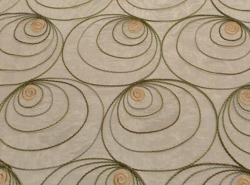 Gold Shimmer Swirl Table Linen