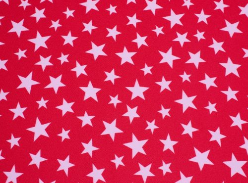 Red Star Linen, American Linen, 4th of July Table Cloth