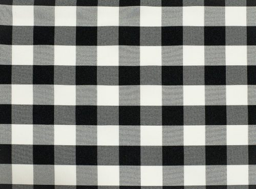 Black Check Table Linen, Plack Picnic Table Cloth