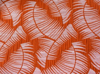 Mango Havana Napkin, Orange Leaf Napkin, #theNAPKINmovement