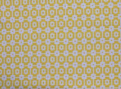 Sunshine Santa Fe Napkin, Yellow Patterned Napkin, #theNAPKINmovement