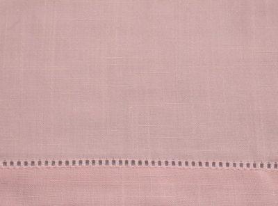 Petal Pink Hemstitch Napkin, Pink Linen Napkin, #theNAPKINmovement