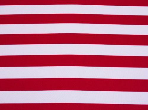 Red Stripe Table Linen